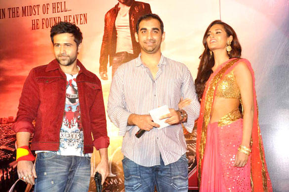 Emraan,Esha and Kunal in Jannat 2 Audio Release