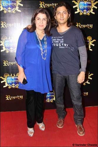 Farah Khan,Shirish Kunder at Riteish-Genelia's pre-wedding bash