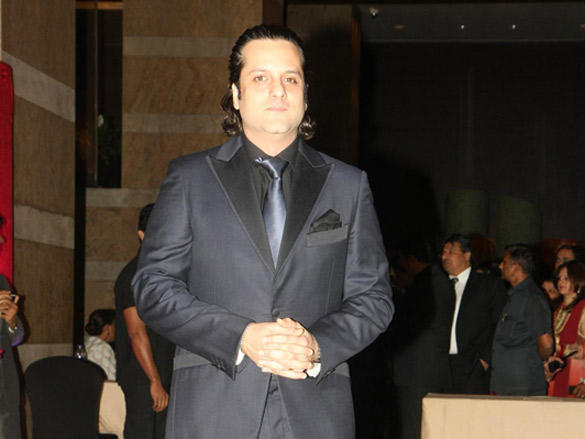 Fardeen Khan at Riteish and Genelia's reception
