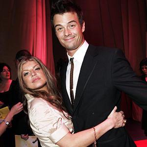 Fergie and Josh Cute Still