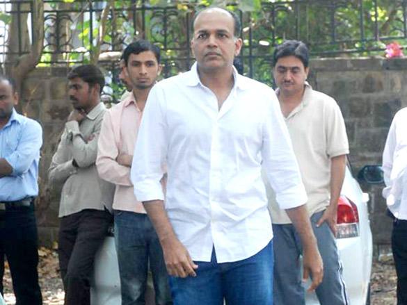 Film Dircetor Ashutosh Gowariker Attends Joy Mukherjee Funeral