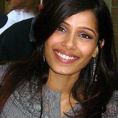 Freida Pinto Beauty Smile Pic