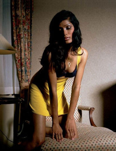 Freida Pinto Latest Romancing Photo Shoot