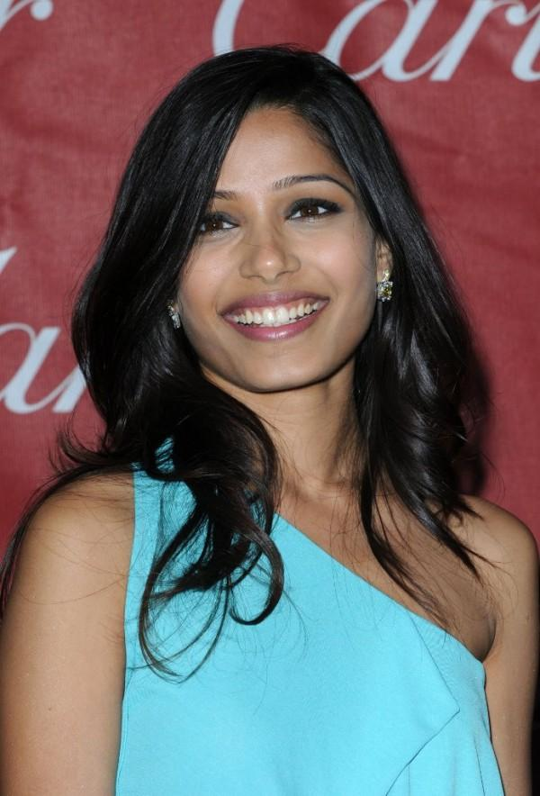 Freida Pinto Party Beauty Still