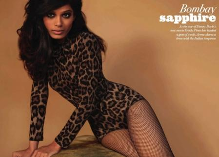Freida Pinto Sexy Dress Hot Wallpaper