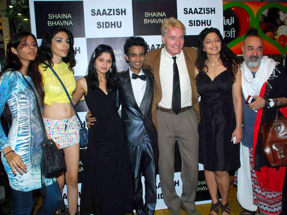 Gary Richardson at Designer Saazish Sidhu and Shaina Singh's debut bridal show