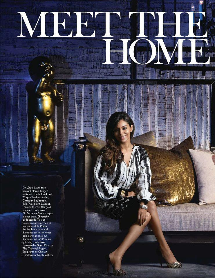 Gauri Khan On Vogue India April 2012
