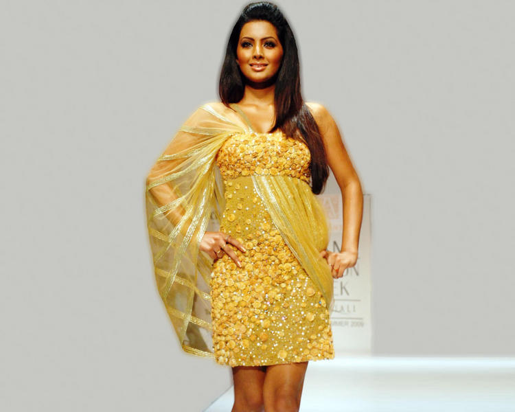 Geeta Basra on Ramp