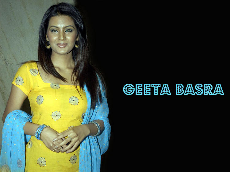 Beautiful Geeta Basra as Desi Girl