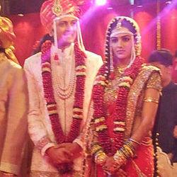 Genelia D'Souza Ritesh Deshmukh Wedding Pictures