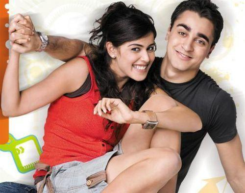 Genelia D'Souza and Imran Khan Cute Still