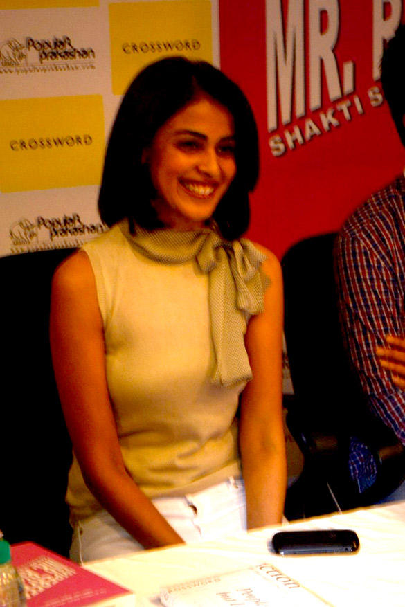 Genelia D'Souza at The Launch Of Leela Shakti Salgaokars Book Imperfect Mr. Right