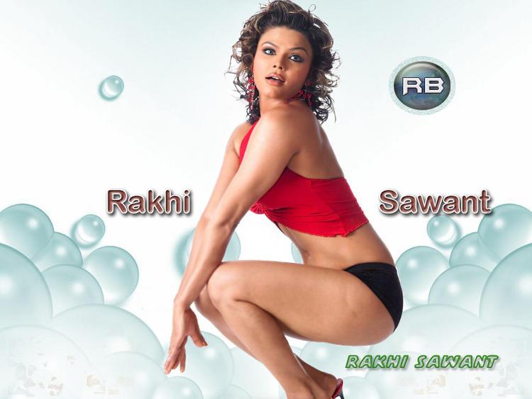 Glam Babe Rakhi Sawant Wallpaper