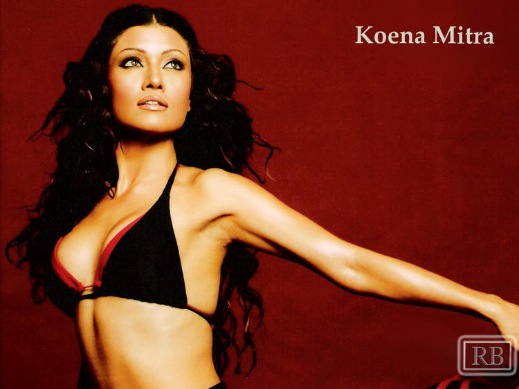 Glam Girl Koena Mitra Wallpaper