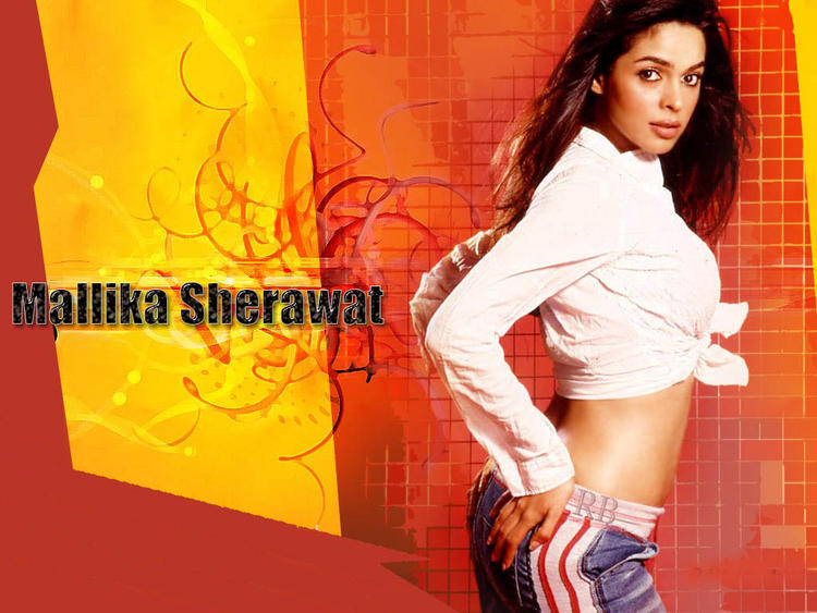 Glam Girl Mallika Sherawat Wallpaper