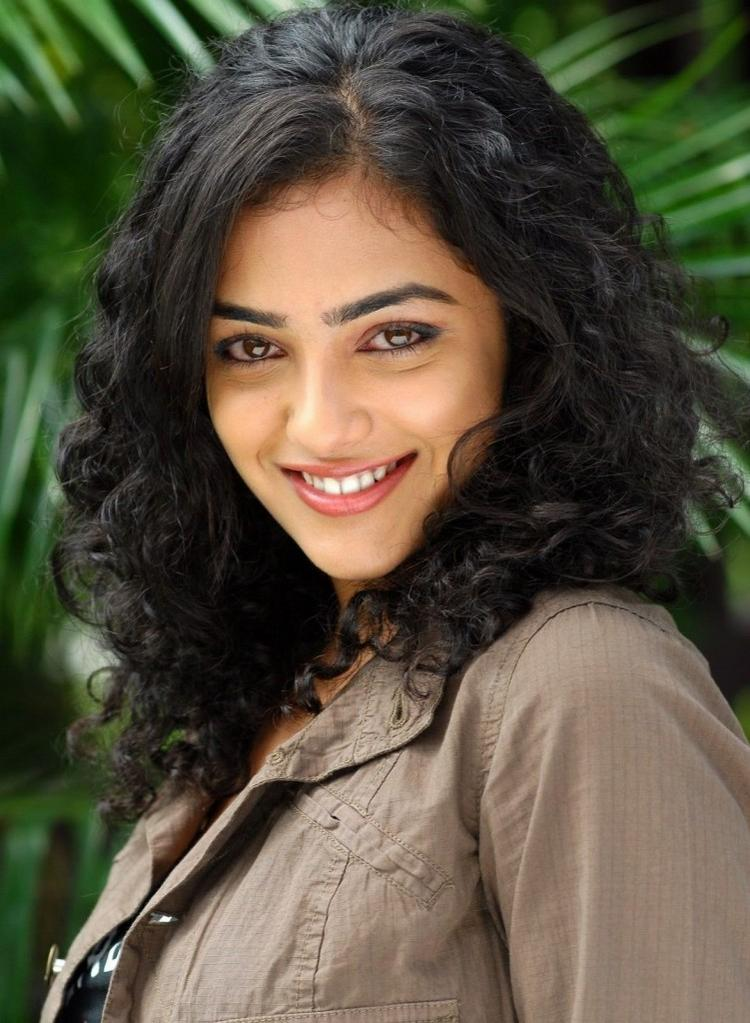 Glorious Nithya Menon Smily Face Still