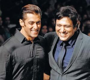 Govinda and Salman Gorgeous Smile Pic
