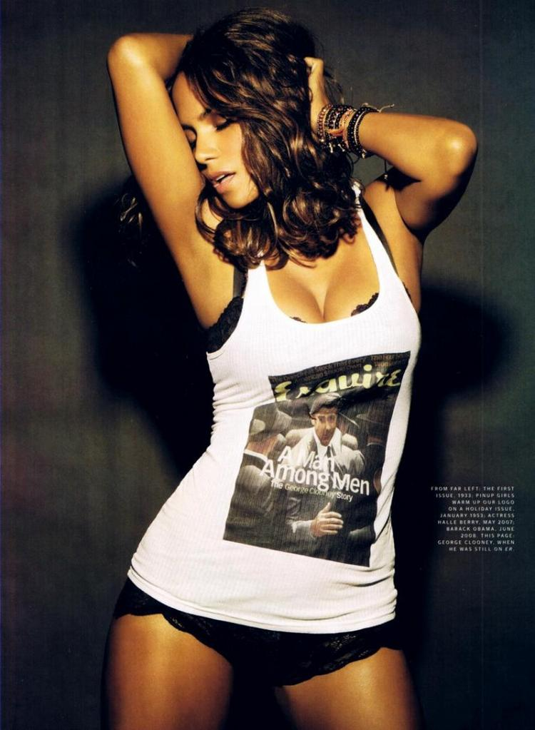 Halle Berry Esquire Magazine Glamour Still
