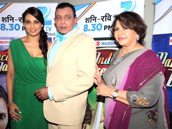 Helen,Mithun,Bipasha Basu at  promote Jodi Breakers on Dance India Dance