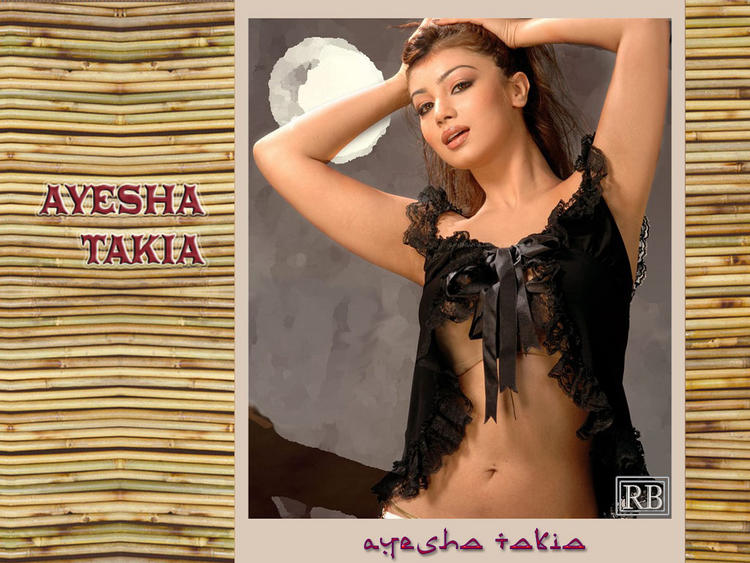Hot Ayesha Takia Wallpaper