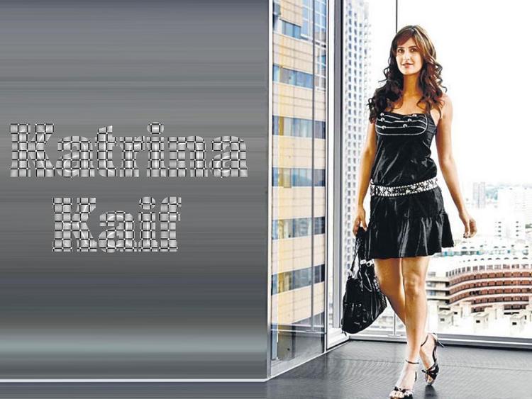 Hot Babe Katrina Kaif Wallpaper