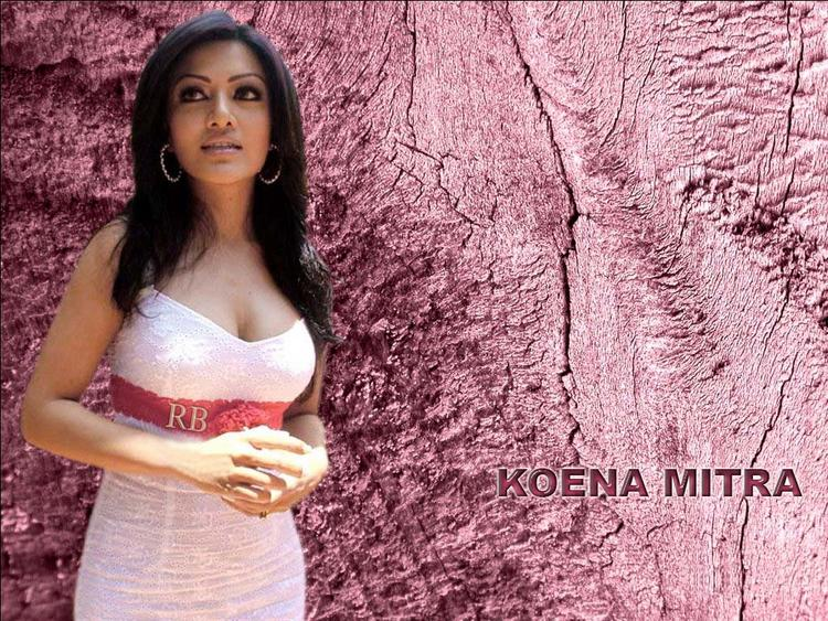 Hot Babe Koena Mitra Wallpaper