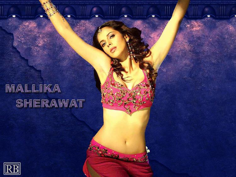 Hot Babe Mallika Sherawat Wallpaper