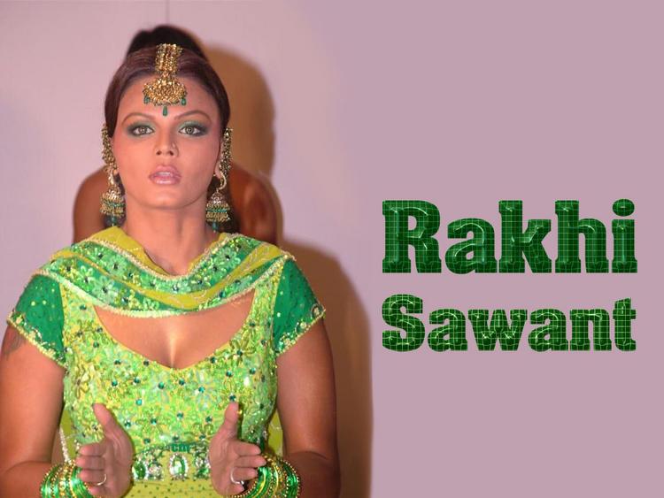 Hot Babe Rakhi Sawant Wallpaper