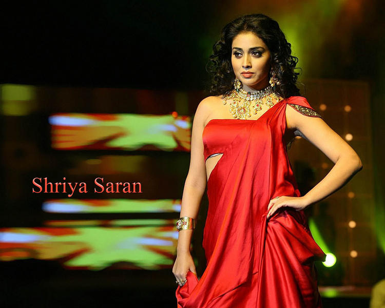 Hot Beauty Shriya Saran Wallpaper