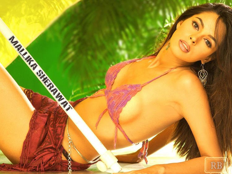 Hot Desi Girl Mallika Sherawat Wallpaper