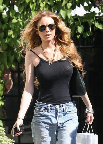 Hot Lindsay Lohan Stunning Picture