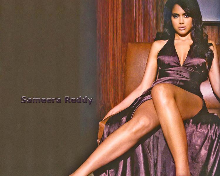 Hot Spicy Actress Sameera Reddy Wallpaper