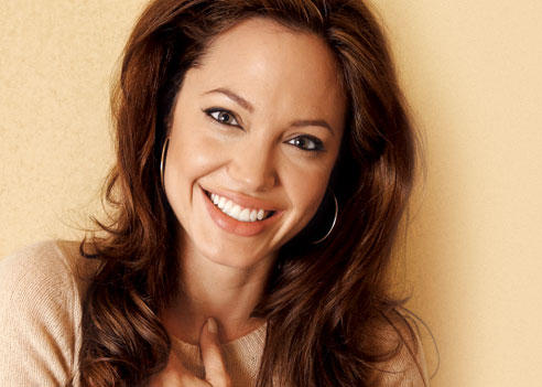 Hot and Beautifull Smile Of Angelina Jolie
