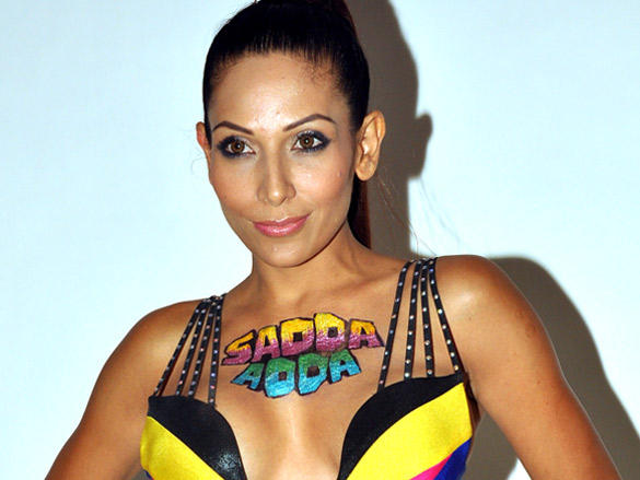 Hot Shaurya Chauhan in Yellow and Black Bikini