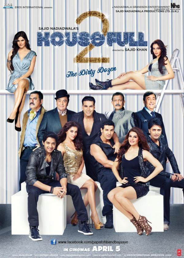 Housefull 2  first look posters images