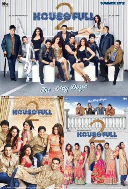 Housefull 2 first look posters wallpaper