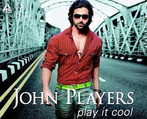 Hrithik Roshan John Players Wallpaper Pic
