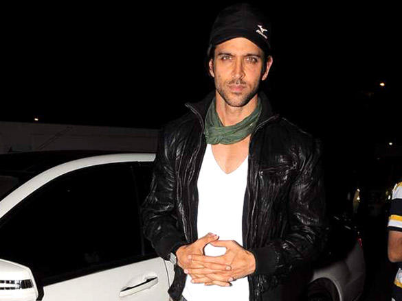 Hrithik Roshan at Special screening of Agneepath