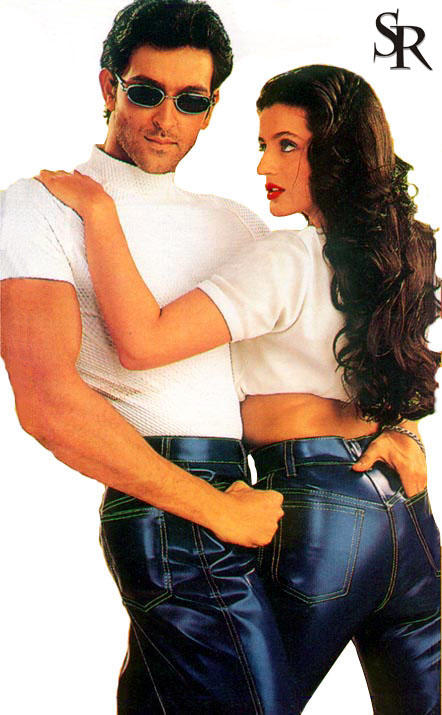 Hrithik and Amisha Hottest Wallpaper