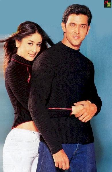 Hrithik and Kareena Sexiest Wallpaper Pic