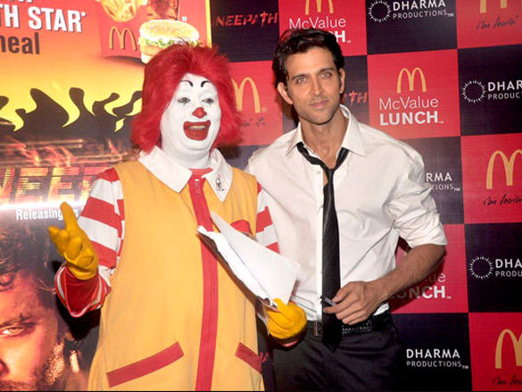 Hrithik Roshan Ties Up With McDonalds
