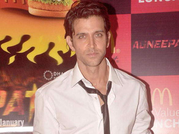 Hrithik Roshan ties up with McDonalds for 'Agneepath'
