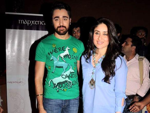 Imran Khan,Kareena Kapoor poses to photo shoot