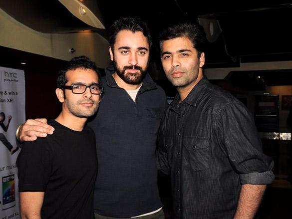Imran and Karan Johar meet Ek Main Aur Ekk Tu patrons