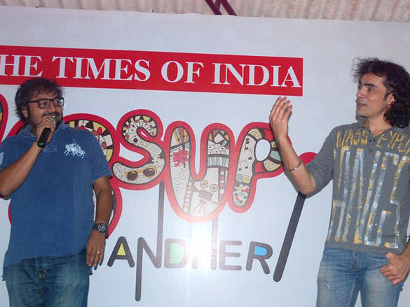 Imtiaz and Anurag at Wassup Andheri Festival Event
