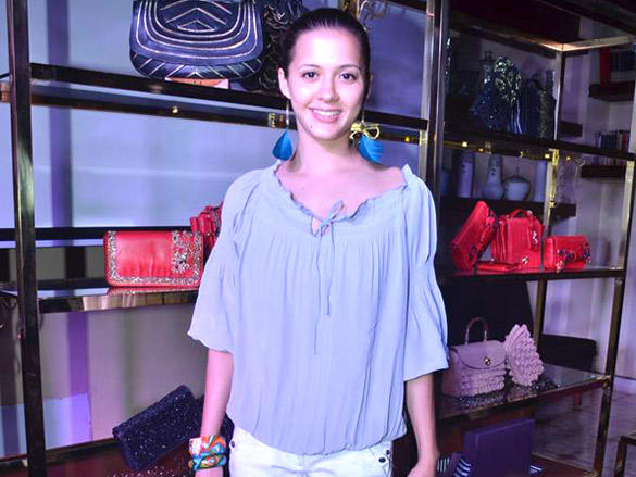 Isha Sharvani at the Launch of Hidesign's Luxury Collection