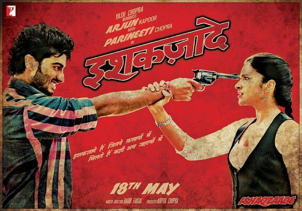 Ishaqzaade Parineeti Chopra and Arjun Kapoor New Poster