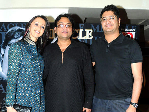 Ishita Arun at launch of Deepak Pandit's album Miracle