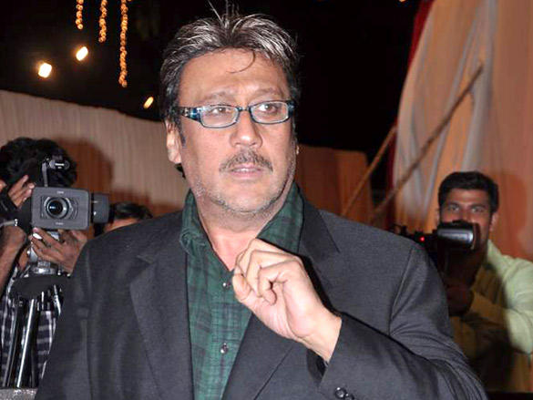 Jackie Shroff at Vikas Kalantri wedding reception