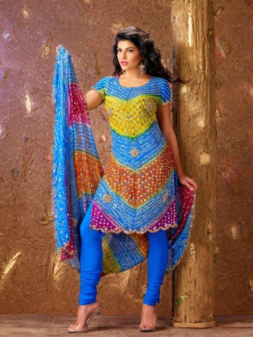 Jacqueline Fernandez Salwar Kameez Beautiful Wallpaper